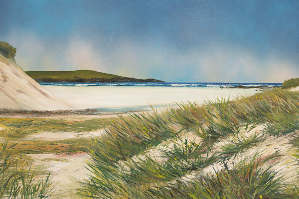 Jeremy Rossiter ART | Hosta Beach, North Uist